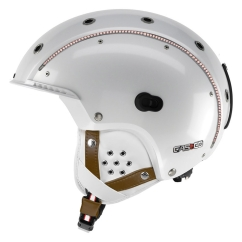 Casco SP-3 Limited Crystal Skihelm (weiß)