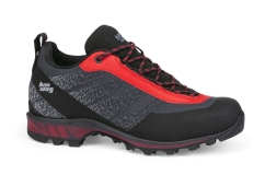 Hanwag Ferrata Light Low GTX Alpinschuhe (black/red)