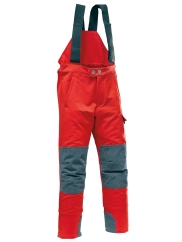 Pfanner Maximus Kinder-Outdoorhose (rot)