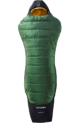Nordisk Gormsson +4 Curve Medium Schlafsack (artichoke-green/black)