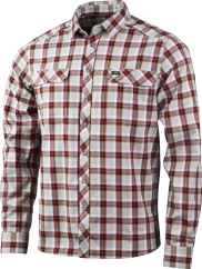 Lundhags Flanell MS Shirt Outdoorhemd (dark-red)
