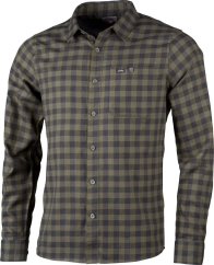 Lundhags Ekren Ms LS Shirt Outdoorhemd (forest-green)