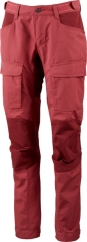 Lundhags Authentic II Ws Pant Outdoorhose (garnet/dark-red)