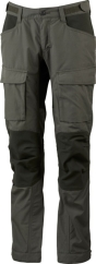 Lundhags Authentic II Ws Pant Outdoorhose (forest-green/dark-forest-green)
