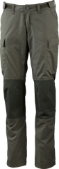 Lundhags Vanner Ws Pant Outdoorhose (forest-green/dark-forest-green)