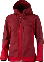 Lundhags Authentic Ws Jacket Outdoorjacke (red/dark-red)