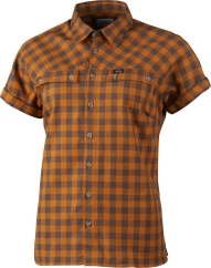 Lundhags Ekren Ws SS Shirt Outdoorhemd (dark-gold)
