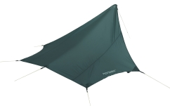 Nordisk Voss Diamond SI Tarp (forest-green)