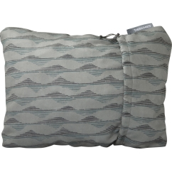 Thermarest Compressible Pillow XL (gray-mountains-print)