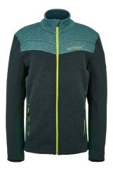 Spyder Mens Encore Full Zip Fleece Jacke (forest)