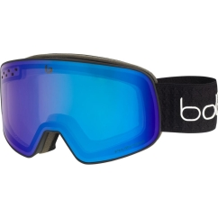 Bolle Nevada Skibrille (black-cross-matte/phantom+)
