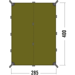 Tatonka Tarp 4 (light-olive)