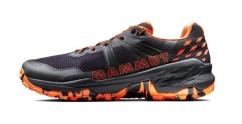 Mammut Sertig II Low Men Freizeitschuhe (black/vibrant-orange)