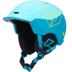 Bolle Instinct MIPS Skihelm (matte-blue/yellow)