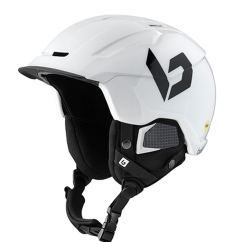 Bolle Instinct MIPS Skihelm (shiny-white/black)
