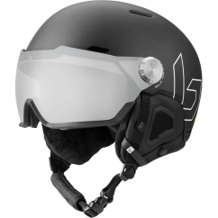 Bolle Might Visor Premium MIPS Skihelm (black-matte/photochromic-silver)