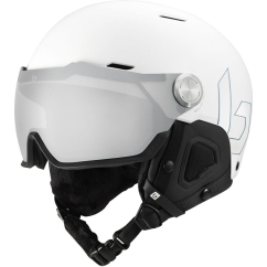 Bolle Might Visor Premium MIPS Skihelm (white-matte/photochromic-silver)