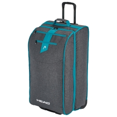 Head Womens Travel Bag Trolley (anthracite/blue)