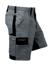 Pfanner StretchZone Canvas Shorts (grau/schwarz)