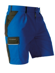 Pfanner StretchZone Canvas Shorts (blau/schwarz)