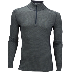 Ulvang Rav 100% Turtle Neck w/zip Ms Funktionsshirt (basil/granite)