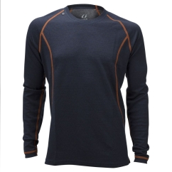 Ulvang 50Fifty 2.0 Round Neck Ms Funktionsshirt (granite/charcoal-melange)