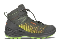 Lowa Zirrox GTX Mid Junior Outdoorschuhe (anthrazit/flame)