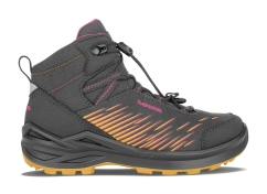 Lowa Zirrox GTX Mid Junior Outdoorschuhe (graphit/beere)