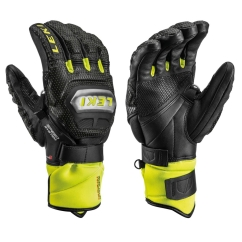 Leki Worldcup Race Ti S Speed System Handschuhe (schwarz/ice-lemon)
