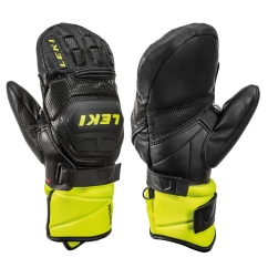 Leki Worldcup Race Flex S Junior Mitt Handschuhe (schwarz/ice-lemon)