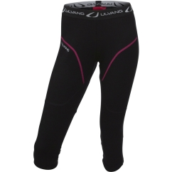 Ulvang Training 3/4 pants Ws Merino-Unterhose (black)