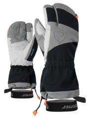 Ziener Grandoso AS PR Mitten Handschuhe (black/new-orange)