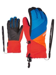Ziener Agil AS Junior Handschuhe (new-red/bright-orange)
