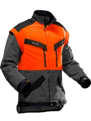 Pfanner KlimaAIR Forstjacke (grau/orange)