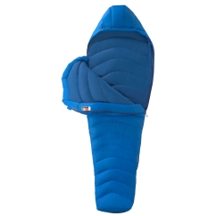 Marmot Helium Long Schlafsack (cobalt-blue/blue-night)