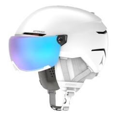 Atomic Savor Visor Stereo Skihelm (white-heather)