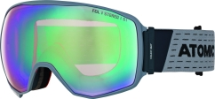 Atomic Count 360 Stereo Skibrille (blue)
