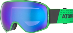 Atomic Count 360 HD Skibrille (green/grey)