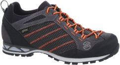 Hanwag Makra Low GTX Alpinschuhe (asphalt/orange)