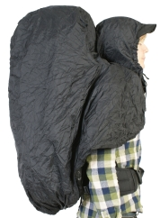 Bach Hooded Raincover Regenhülle (black)