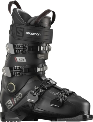 Salomon S/Pro 120 Skischuhe (black/belluga/red)