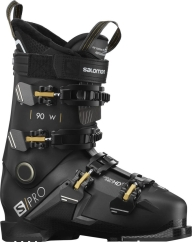 Salomon S/Pro 90 W Skischuhe (black/belluga/gold)