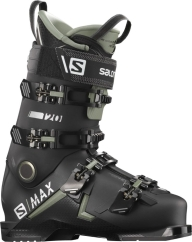 Salomon S/Max 120 Skischuhe (black/oil-green/silver)