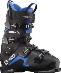 Salomon S/Pro HV 130 Skischuhe (black/race-blue/red)