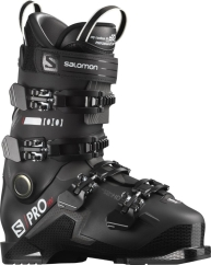 Salomon S/Pro HV 100 Skischuhe (black/belluga/red)