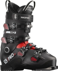Salomon S/Pro HV 90 IC Skischuhe (black/red/white)