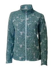 Ivanhoe Monstera Full Zip Outdoorjacke (silver/pine)