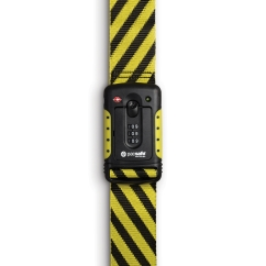 Pacsafe Strapsafe 100 Kabelschloss (yellow/black)