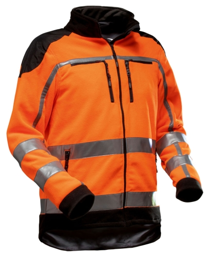 Pfanner Zipp2Zipp Jobby Colour Fleecejacke - EN 20471 (orange)