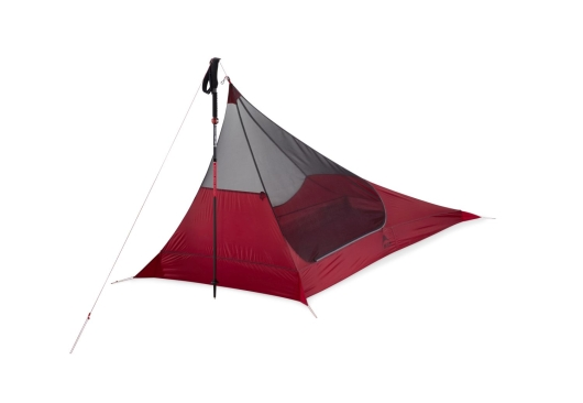 MSR Thru-Hiker Mesh House 1-Personen Zelt (red)